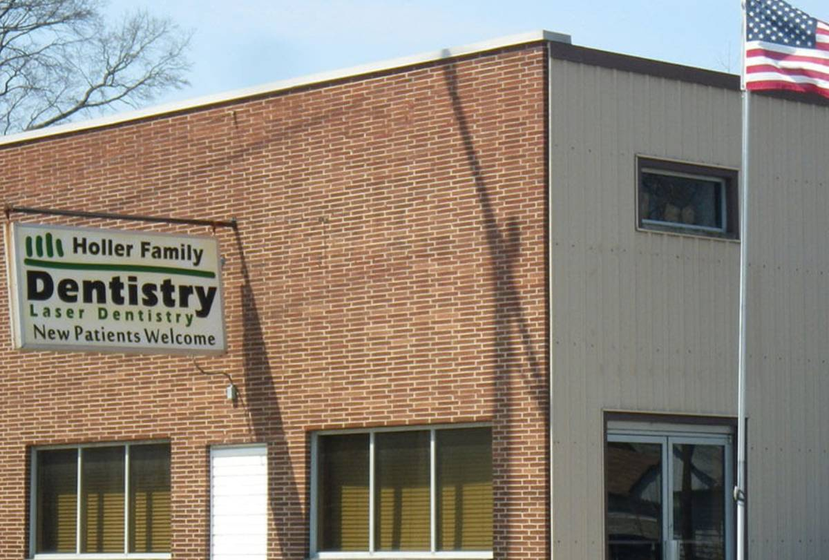 Holler Family Dentistry building